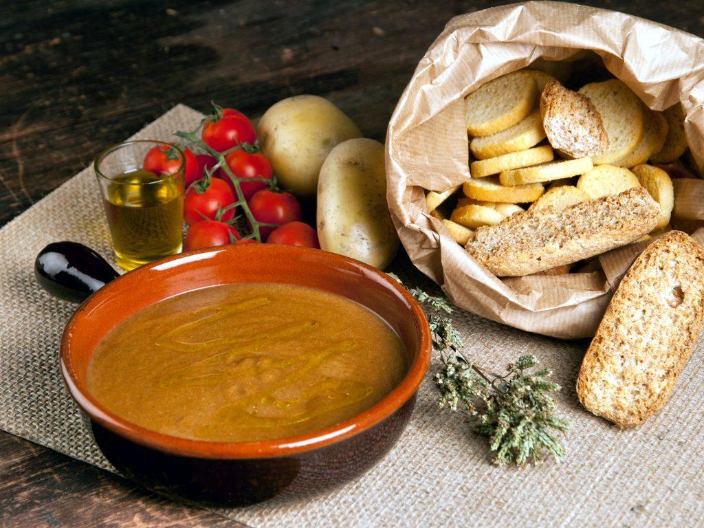 Soupes, potages, veloutés de légumes